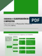 Evidencia 2_CLASIFICACIÓN DE EMPRESAS E IMPUESTOSs.pps