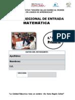 MATEMÁTICA CALLAO 1°