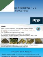 At -YMM-XIII Depositos Radiactivos _ U y Tierras Raras..