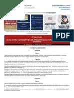 Pravilnik o Uslovima i Normativima Za Projektovanje Stambenih Zgrada i Stanova