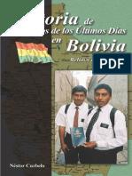 Curbelo Historia de Los Santos en Bolivia