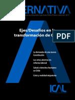 Alternativa.revista Chile.nueva Contitucion