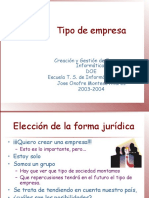 Empresa y Su Clasificacion