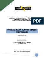 Manual Para Juntas Viales Cantonales