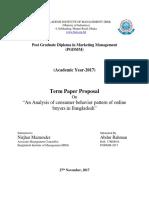 Term Paper Proposal (BIM)