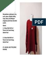 WA 0821 1303 7795,jual baju atasan wanita trendy,jual baju atasan wanita terbaru 2017,jual atasan wanita ukuran besar
