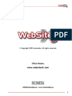 WebSiteX5 Evolution 8 En