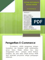 Sistem Informasi Manajemen E-Commerce