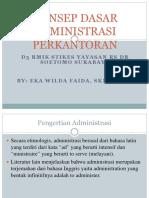 1. Konsep Dasar Administrasi Perkantoran - Copy