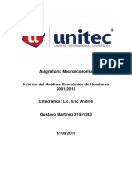 Informe Macroeconomico 2001-2016