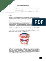 Elaboracion Del Yogurt