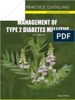 Treatment Guidelines for Type 2 DM