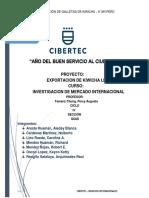 Investigación Mercados Internacionales
