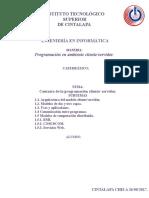 1 Unidad Contexto de La Programación Cliente Resumen