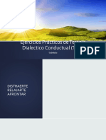 Ejercicios Prácticos de Terapia Dialectico Conductual (TDC)