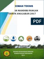 Pedoman Teknis Desa Mapan 2017