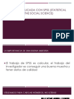 Estadistica Aplicada Con Spss (Statistical Package For