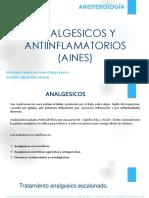 Analgesicos y Antiinflamatorios(Aines)
