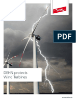 GEN OVER VOLTAGE Dehn Wind Turbine Protection en 0515