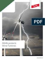 GEN OVER VOLTAGE Dehn Wind Turbine Protection en 0515