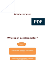 Accelerometer:How, Why & its types