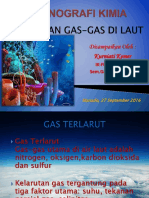 Kelarutan Gas-gas Di Laut