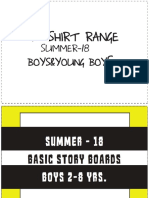 Kids Boys t Shirt Range