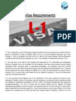 L1 Visa Requirements
