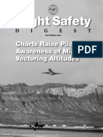 Charts Raise Pilot Awareness of Minimum Vectoring Altitudes