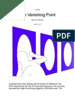 Vanishing Point Novella by Paul Theroux.docx