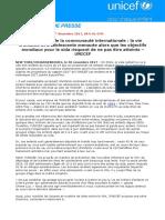 Journée Mondiale de Lutte Contre Le Sida 2017- Press Release_ FINAL FR