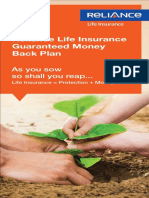 Guaranteed Money Back Brochure
