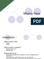 Missing Value
