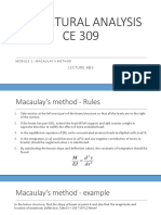 Macaulay's Method Slides