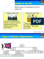 1 Business Organisations