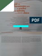 Manual de Lineamientos Para La Practica de La Nutricion Clinica