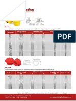 UNF Threaded Plugs Data Sheet