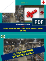 Materi-6 - Housekeeping Dan p3k