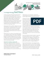 Gardening) Composting Yard Waste