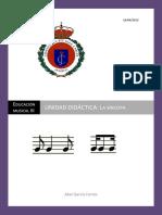 Unidad Didáctica Música (la síncopa)