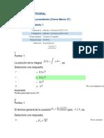Evaluaciones de Toda La Materia Calculo Integral