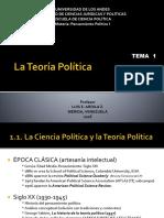 La Teoría Política