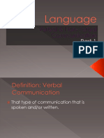 Nonverbal Communication - Part 1