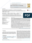 Next Generation Sequencing as a Tool for the Molecular Ch 2015 Trends in Food
