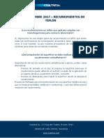 FAQs Noviembre 2017-  Recubrimientos Teflón