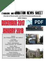 Dec 2017/Jan 2018 Parish Information Newsletter (PINS)