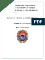 Glosario Anya Chavez