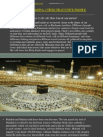 Makkah and Madina, Cities That Unite People Together