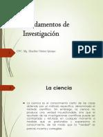 Fundamento de Investigacion
