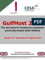 GulfHost 2017 Brochure